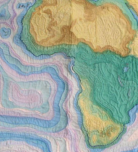 quilt ia africa detail