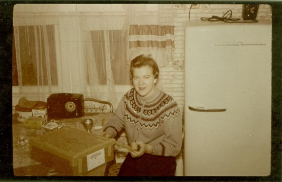Mom 1960 icelandic sweater
