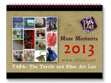 TAFA Calendar 2013: Muse Moments