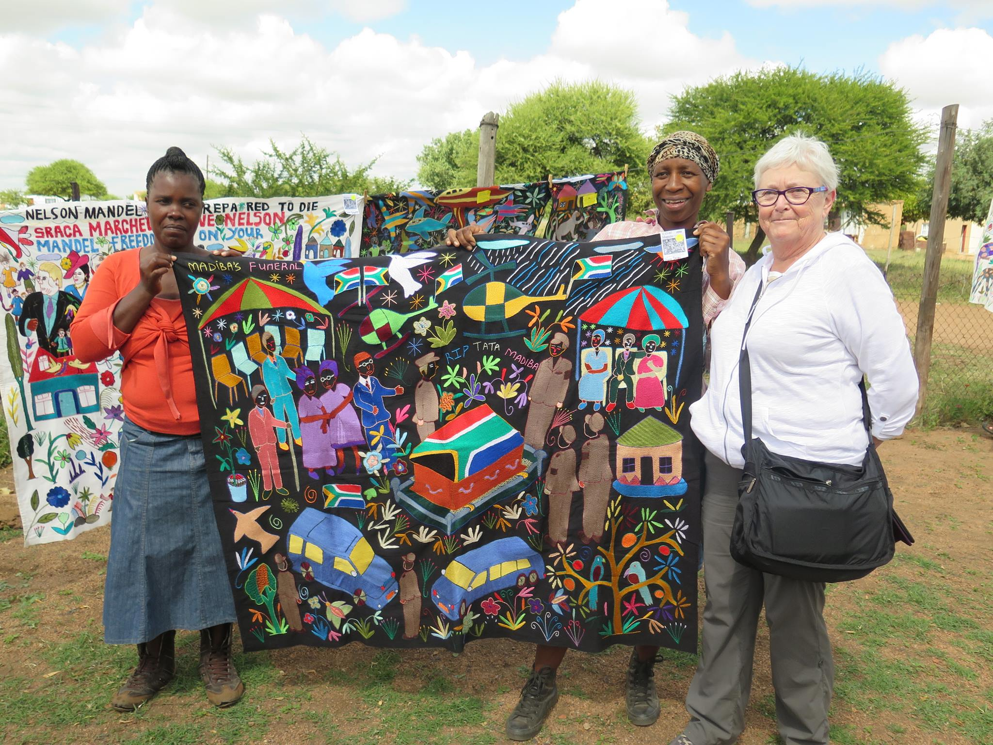 African Threads Tours to South Africa led by textile artist Valerie Hearder, born and raised in South Africa and now living in Nova Scotia, Canada. Valerie has won numerous awards for her own art quilts, written two books on her techniques, and participates actively with other textile artists in her community and online.